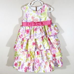 🌹3 for $20🌹 Cherokee Floral dress size 4t